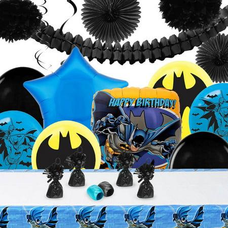 Batman Decoration Kit - Batman Party Decorations