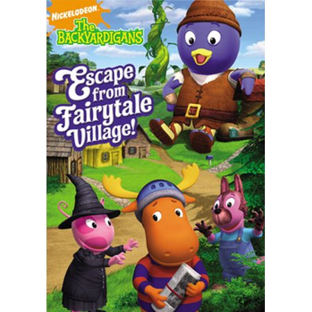The Backyardigans: Escape From Fairytale Village! (DVD)