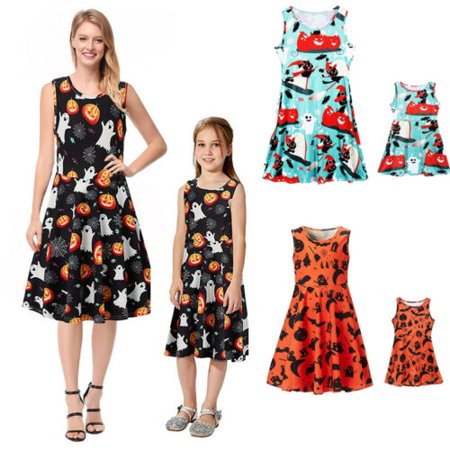 Halloween Dresses In Hyderabad (Halloween Family Dress Lady Mother Daughter Matching Girls Dress Clothes)