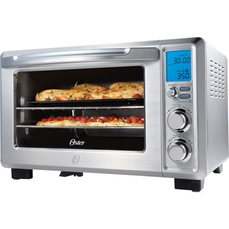 Oster Digital Countertop Oven E02 : Oster Designed For Life 6-Slice Digital Toaster Oven - Walmart.com