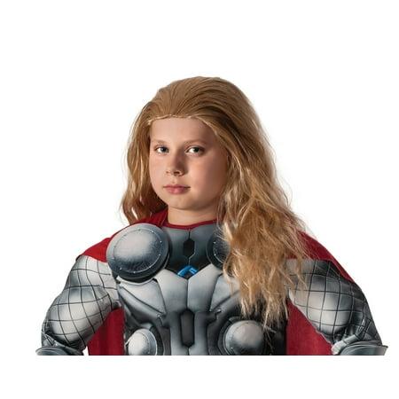 Boys Avengers 2 Thor Wig - Boy Wig
