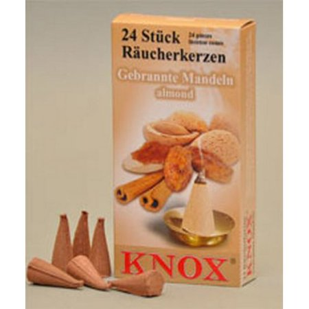 Pinnacle Peak Trading Co Knox Almond Scent German Incense Cone](Austin Trading Co)