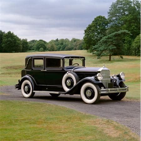 1930 Pierce Arrow Model 8 four door sedan 60 litre L-head straight eight engine Country of origin United States Poster Print 4 Door Sedan Models