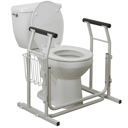 Pivit Stand Alone Toilet Safety Rails | Medical Bathroom ...