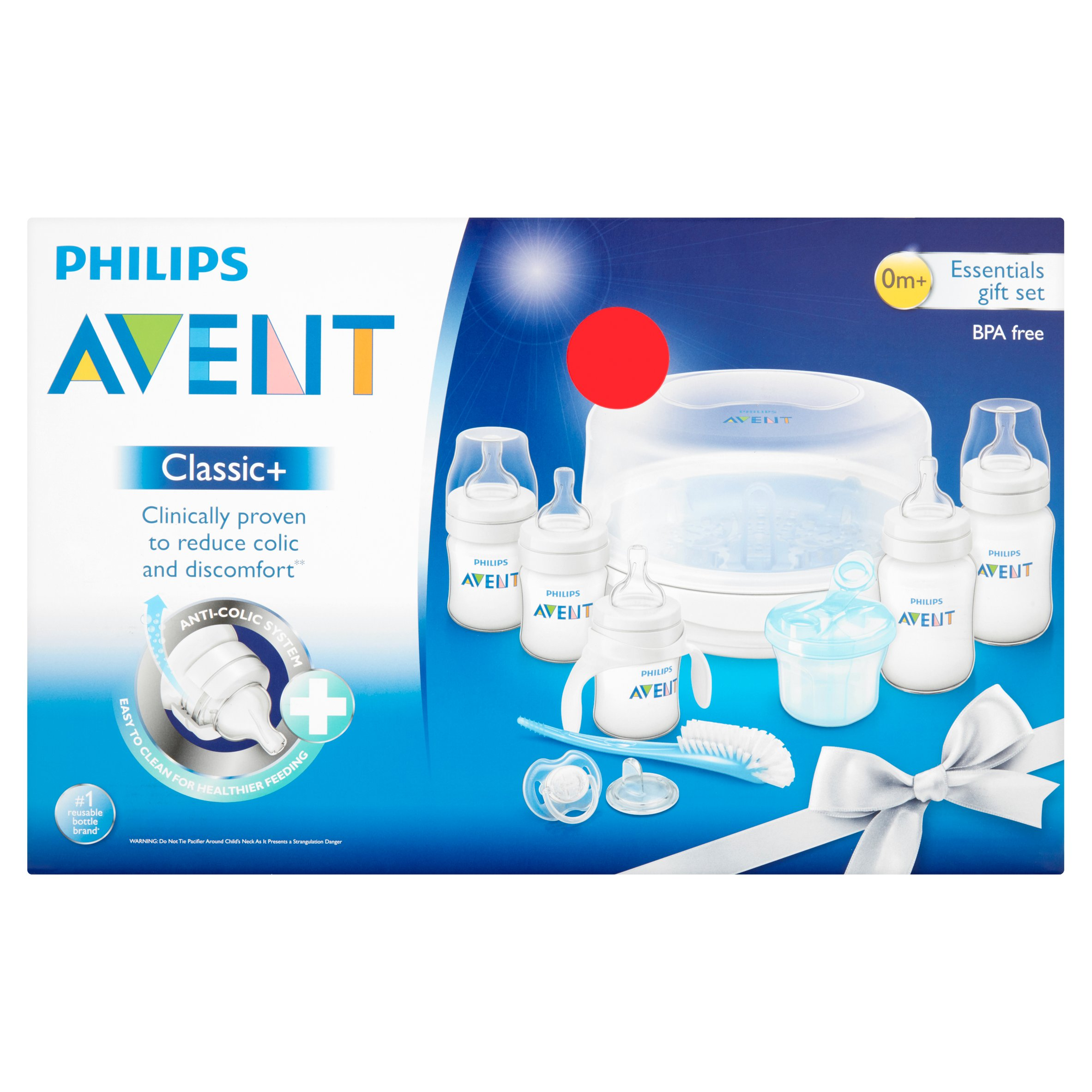 Philips Avent Classic+ 0m+ Essentials Gift Set