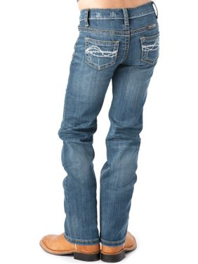 Cowgirl Tuff Co. Girls  Don't Fence Me In Jeans