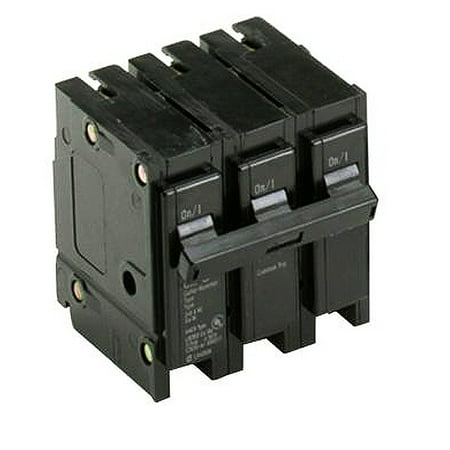 Eaton BR380 Plug-On Mount Type BR Circuit Breaker 3-Pole 80 Amp 240 Volt AC