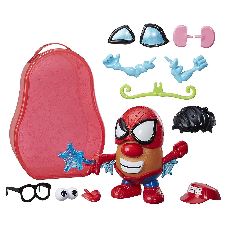 Playskool Friends Mr. Potato Head Marvel Spider-Spud Suitcase, Create Marvel Super Hero... by