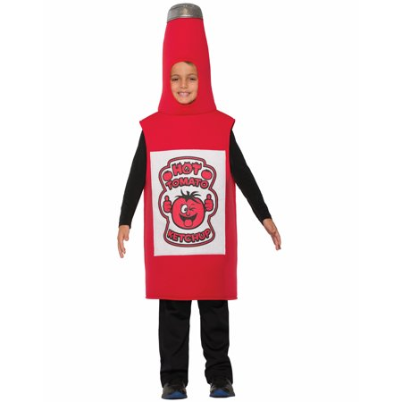 Ketchup Bottle Unisex Child Funny Condiment Halloween - Funny Halloween Custumes