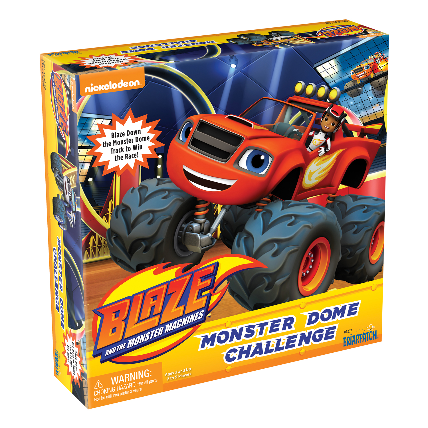 Briarpatch Blaze and the Monster Machines - Monster Dome Challenge Game