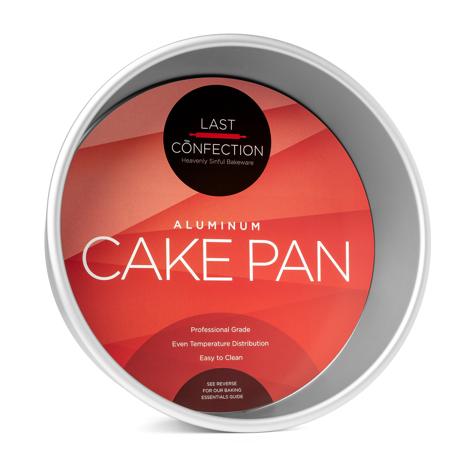Last Confection Round Aluminum Cake Pan Professional Bakeware (Multiple Sizes) by Last Confection
