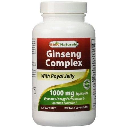 Ginseng Complex 1000 mg 120 Capsules By Best (Best Ginseng For Men)
