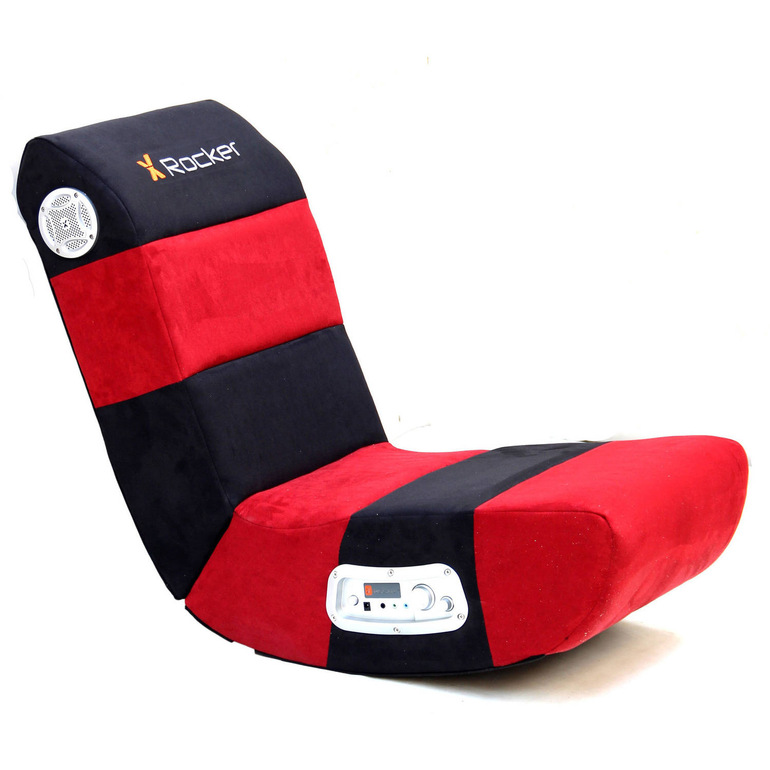 X Rocker 2.1 Wired Audio Gaming Chair, Rave Red/Black