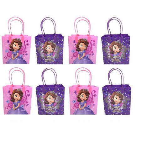 LWS LA Wholesale Store  12 bags SOFIA THE FIRST PRINCESS Party Favor Goody gift Candy birthday MINNIE - Wholesale Gift Bags