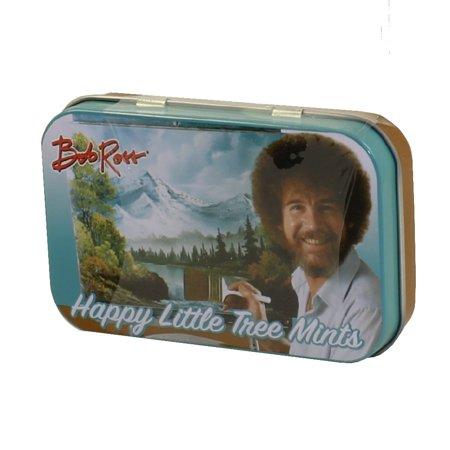 Boston America - Bob Ross Mints Tin - HAPPY LITTLE TREE MINTS