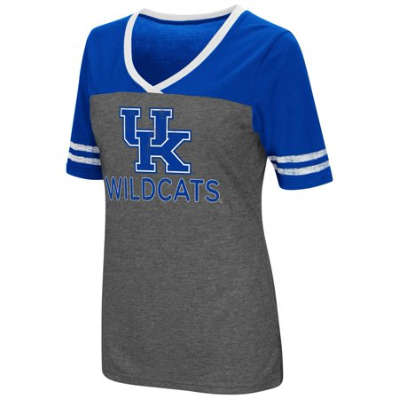 Ladies Colosseum Mctwist Kentucky Wildcats UK Jersey T Shirt