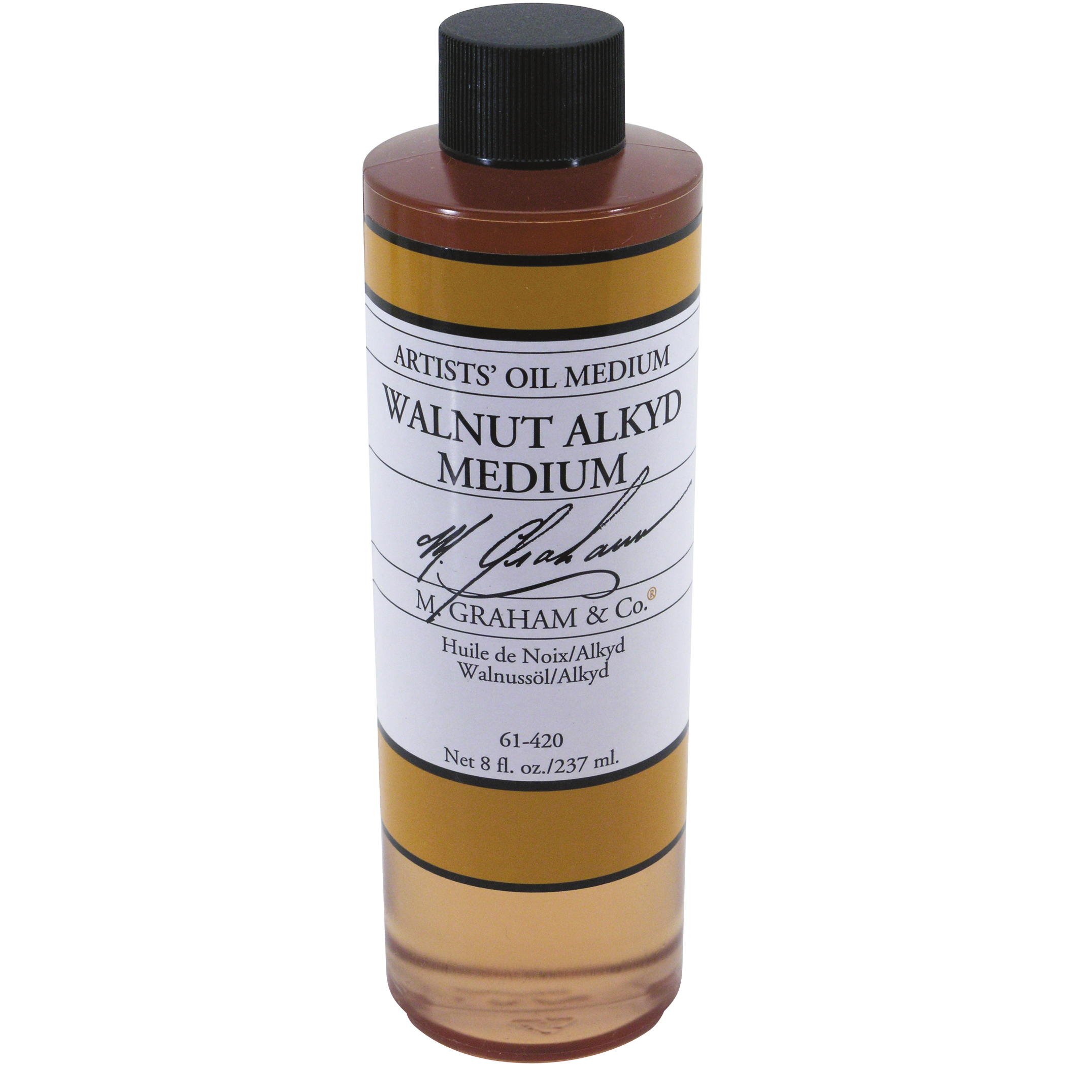 M. Graham & Co 8oz. Walnut Alkyd Oil