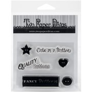 """Two Paper Divas Clear Stamps 6""""X4.5""""-Sweet Notions Accessories"""