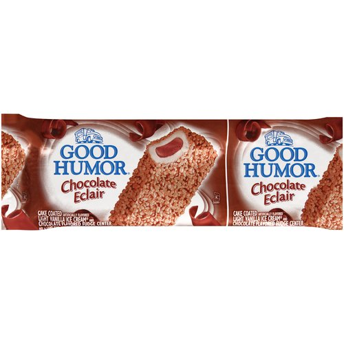Good Humor Chocolate Eclair Bar, 4 oz