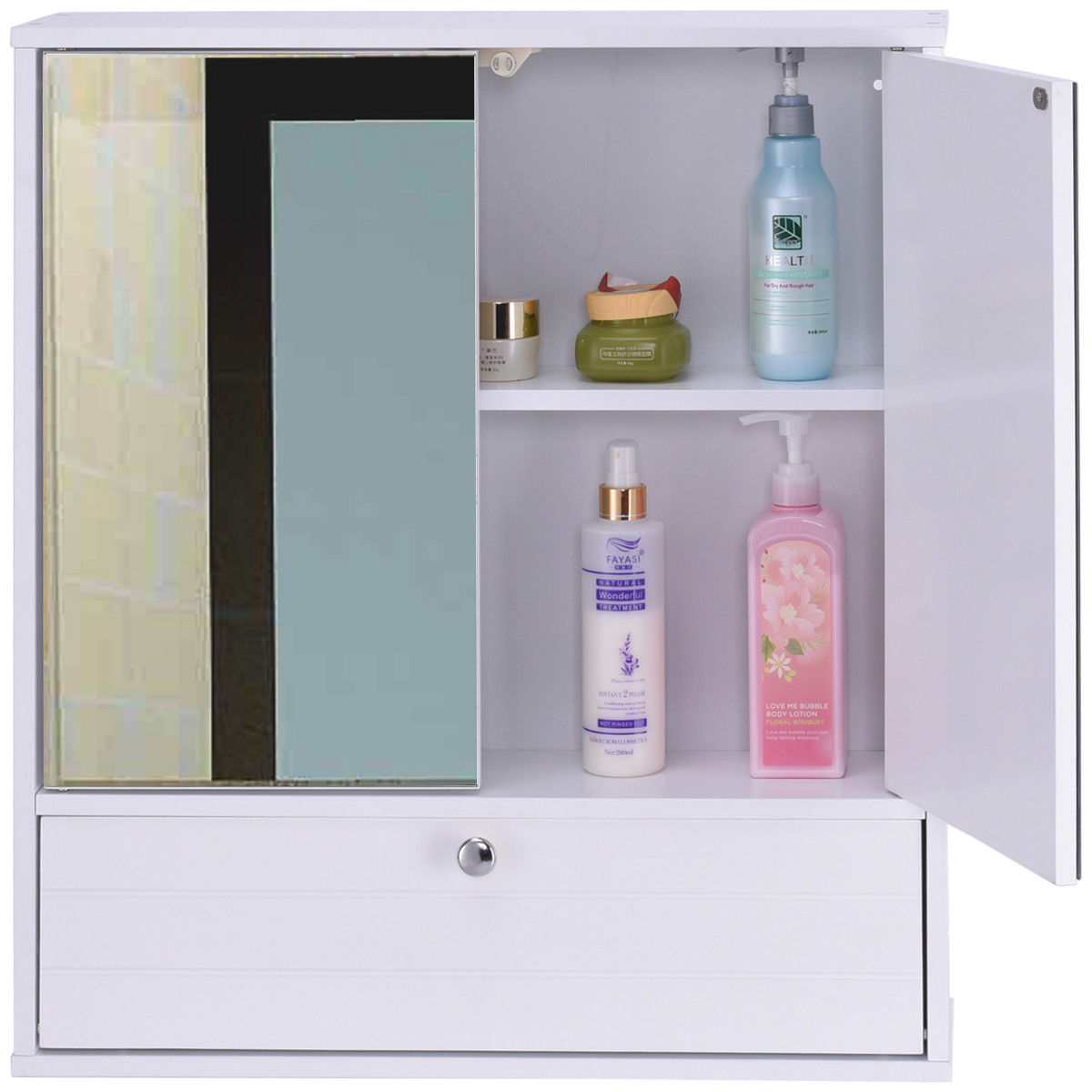 Bathroom Shelves - Bright Bathroom