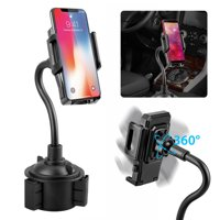 2a0a8d74022591 Product Image EEEKit Cell Phone Car Cup Holder, Universal 360° Adjustable  Car Mount Gooseneck Cup Holder