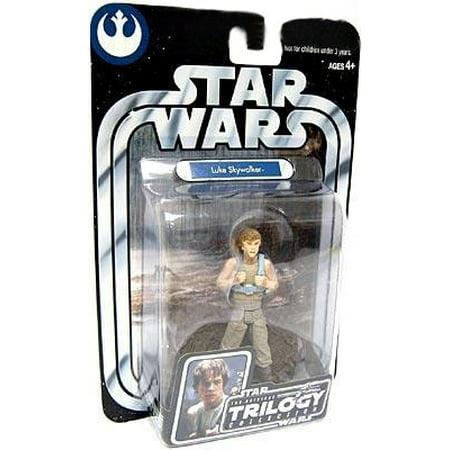 Original Trilogy Collection Luke Skywalker - Star Wars Original Trilogy Collection 2004 Luke Skywalker Action Figure [Dagobah, Upright]