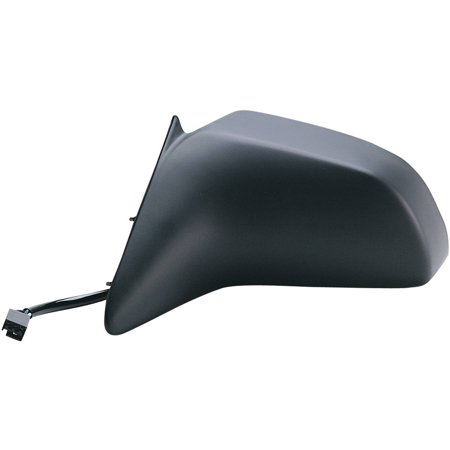 61502F - Fit System Driver Side Mirror for 88-94 Ford Tempo 4 door Driver Side, Mercury Topaz 4 door, black, non-foldaway, -