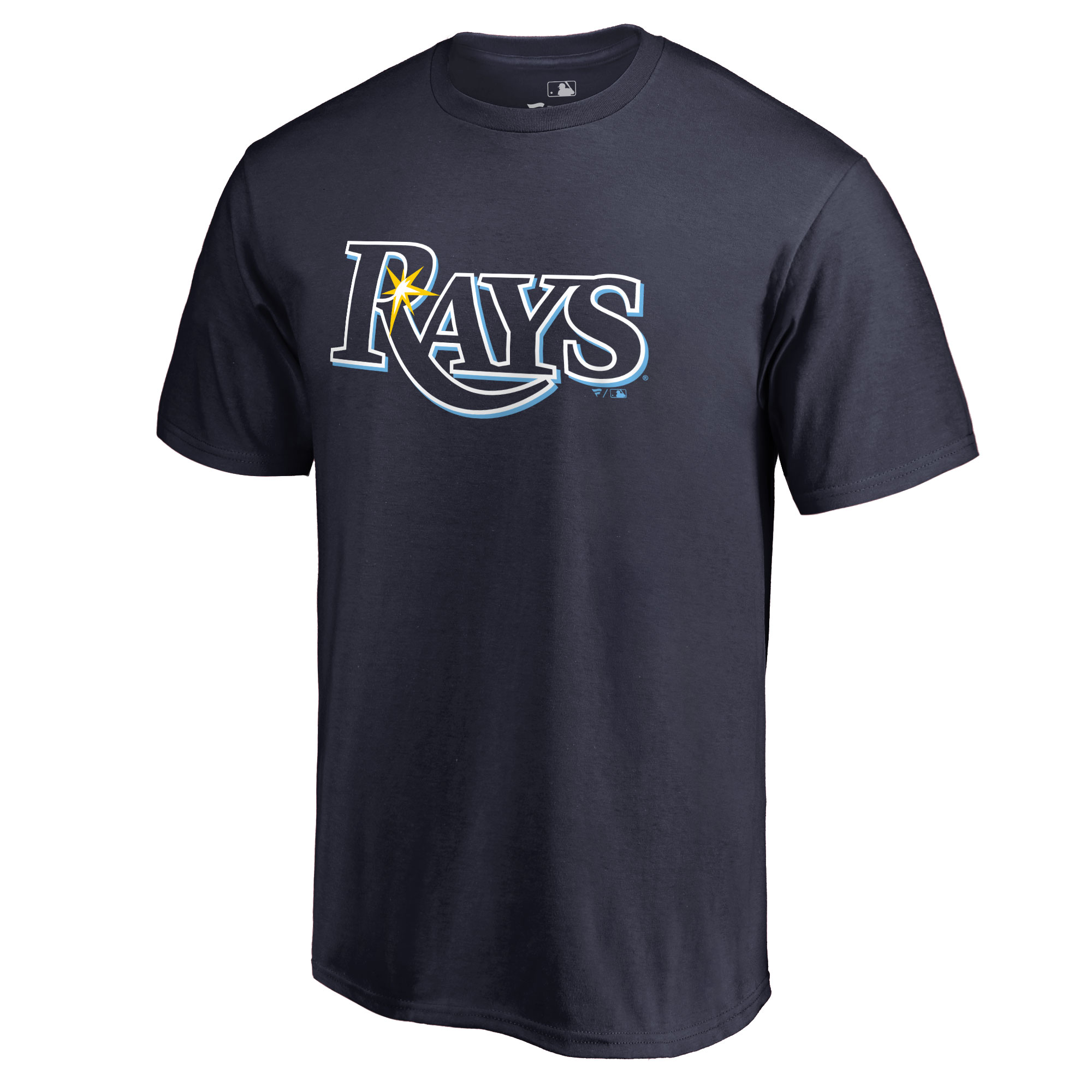 Tampa Bay Rays Team Color Primary Logo T-Shirt - Navy