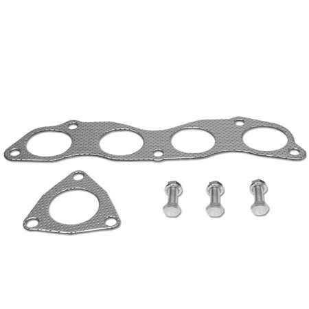 For 2006 to 2011 Honda Civic Si 2.0L Aluminum Exhaust Manifold Header Gasket Set 07 08 09