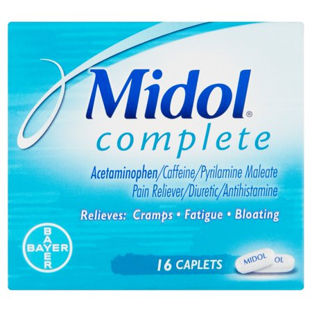 Midol complet de secours Multi-Symptom, 16 count