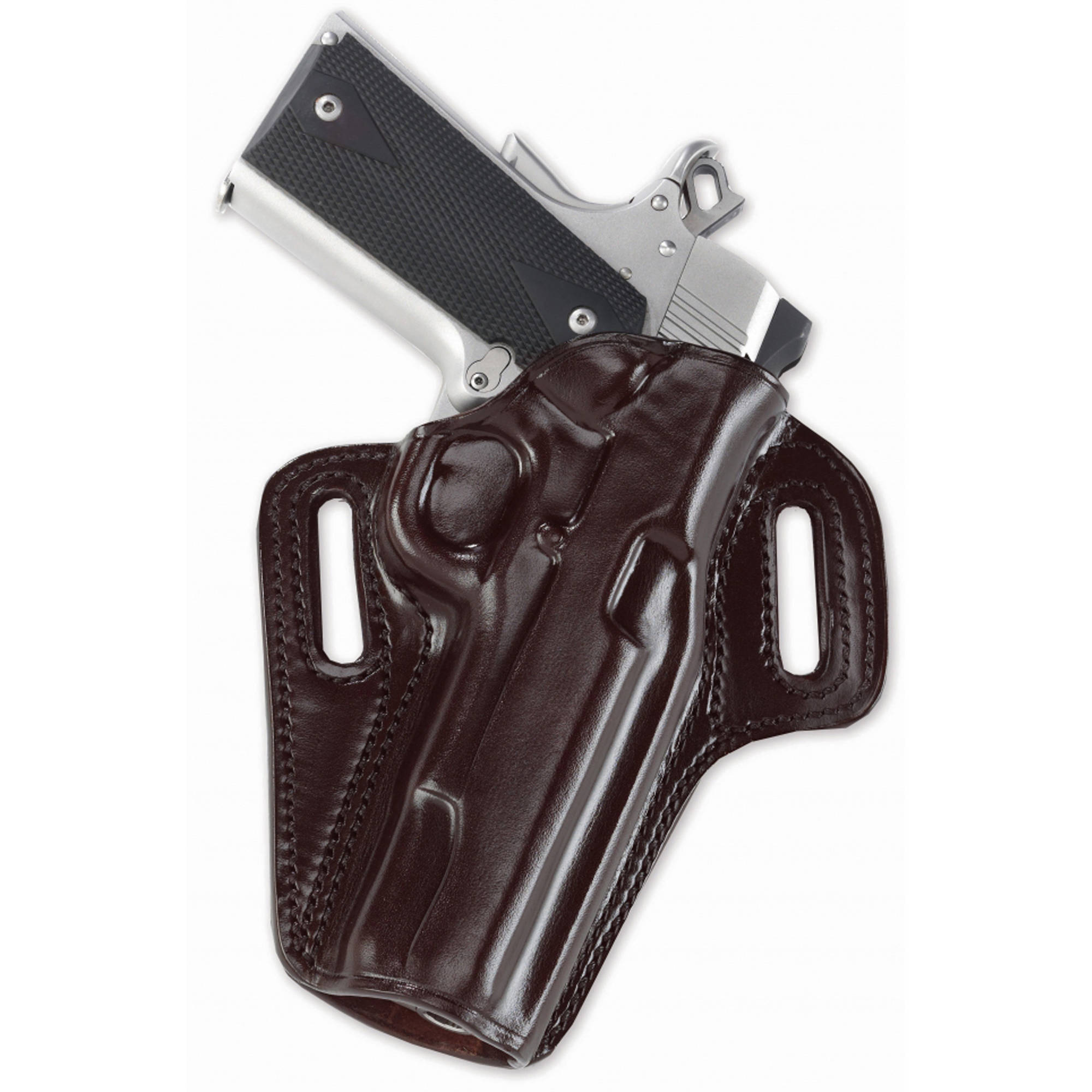 "Galco Concealable Belt Holster, Fits 1911 with 3.5"" Barrel, Right Hand, Black Leather by Galco"