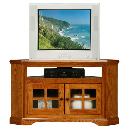 Eagle Furniture Oak Ridge 40 in. Corner TV Stand Oak Ridge Stripes