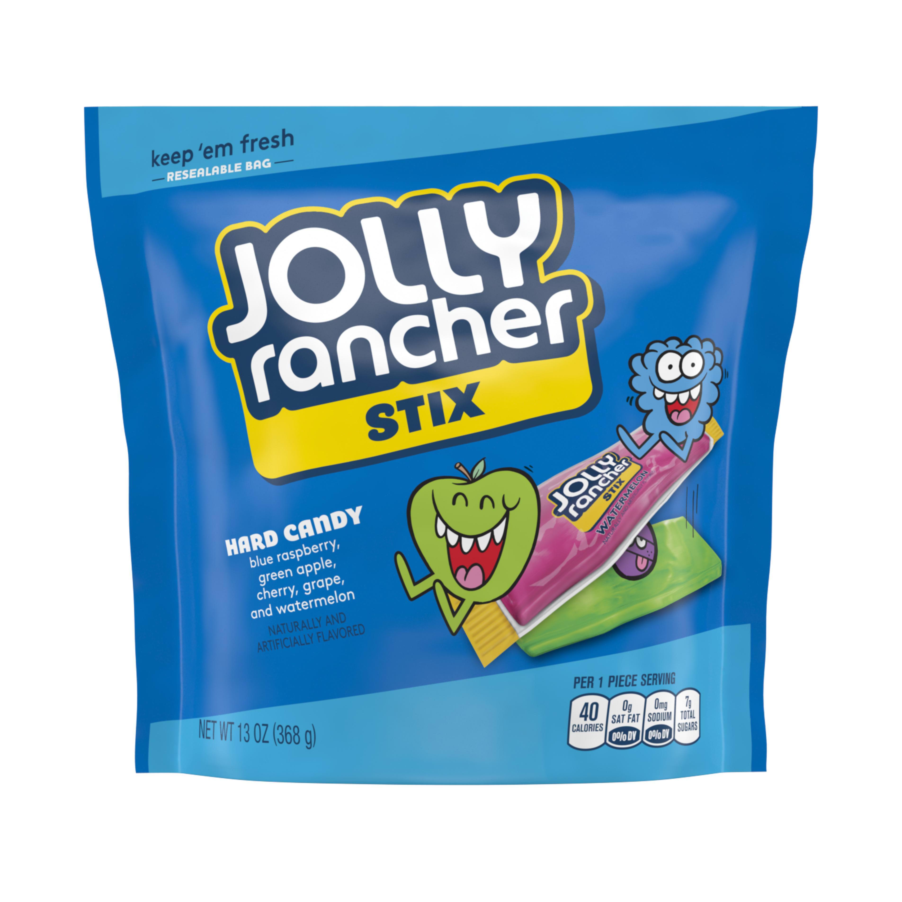 Jolly Rancher Stix Original Flavors Hard Candy, 13 Oz.