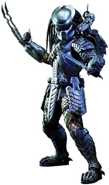 Alien vs Predator Movie Masterpiece Scar Predator 1 6 Collectible Figure by