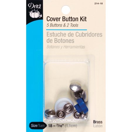 Dritz cover button kit size 36 7 8 3 ct tools for Dritz craft cover button kit size 36
