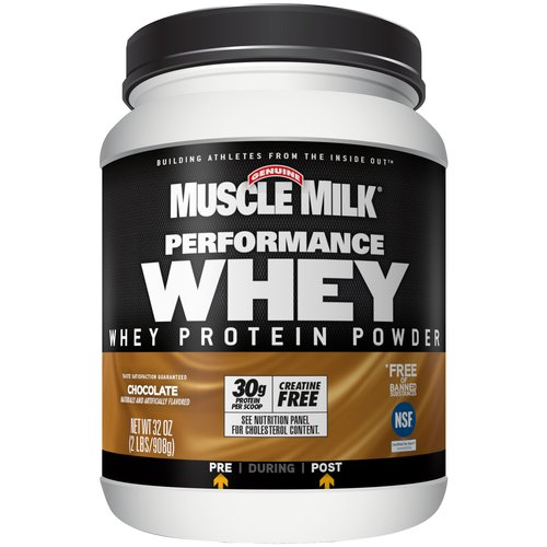 Muscle Milk Muscle Mlk Comp Whey Cocoa Bean 2lb