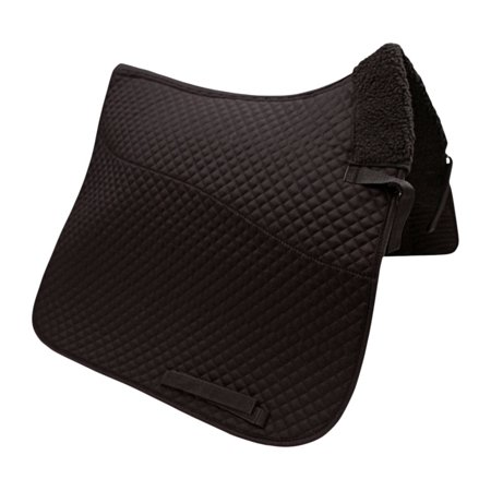 Semi Fleece Lined Dressage Saddle Pad Double Fleece Saddle Pads