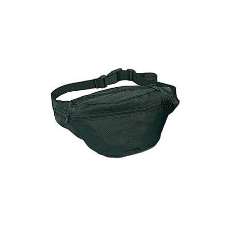 Best Polyester 4-Pocket Fanny Pack - Black deal