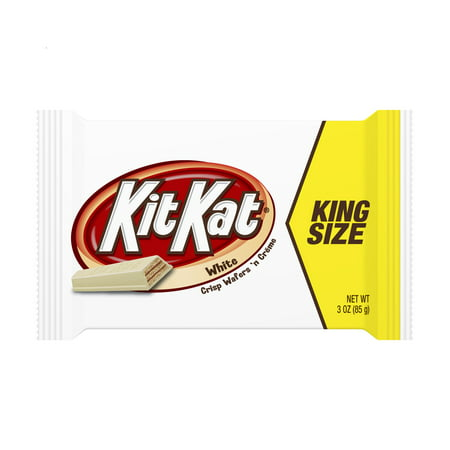 (6 pack) KIT KAT King Size Crisp Wafers in White Creme, 3 Oz