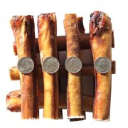 "6"" BULLY STICKS - JUMBO EXTRA THICK Select 6 inch (24 Pack), by Downtown Pet Supply"