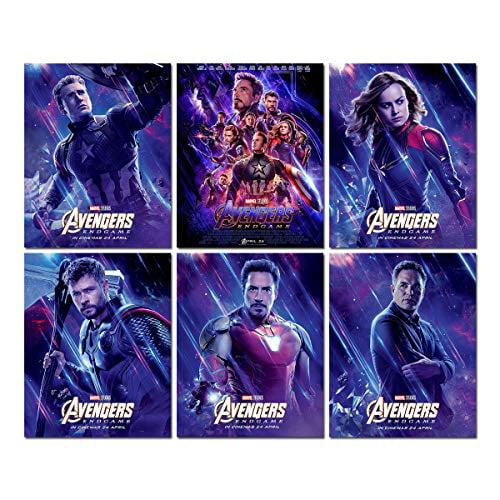 Ironman Hulk Captain America Thor Marvel Avengers Giant Wall Art poster Print
