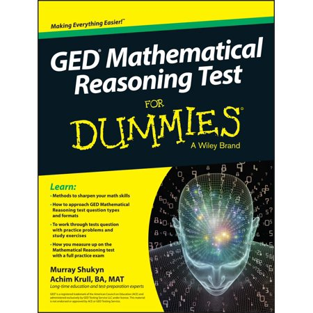 GED Mathematical Reasoning Test for Dummies - Test Dummy Costume