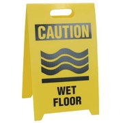 "Floor Safety Sign, See All Industries, TP-CWETF, 20""Hx12""W"