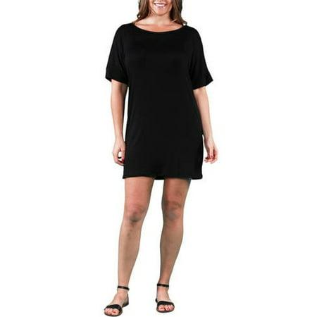 Women\'s Plus Size T-shirt Dress