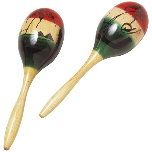 Hohner Inc Wood Maracas (Set of 2) by Hohner Music
