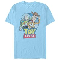 Toy Story Men's Best Friends Logo T-Shirt