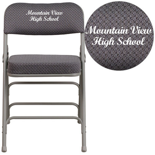 flash furniture hercules series embroidered folding chair
