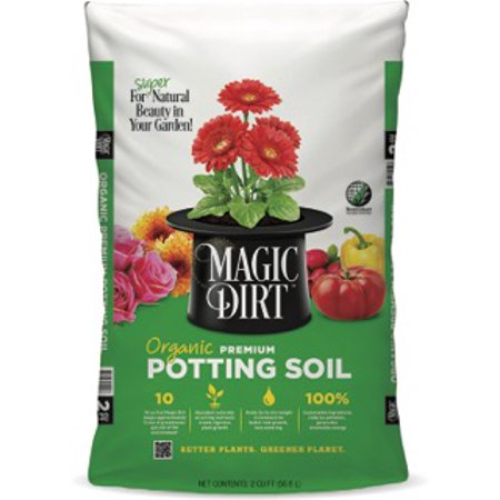 Magic Dirt Organic Premium Potting Soil 1Cf