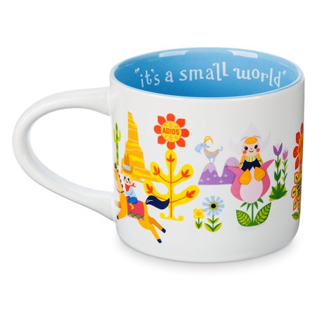 - Disney Parks It's a Small World Ceramic Coffee Mug 16 Oz New