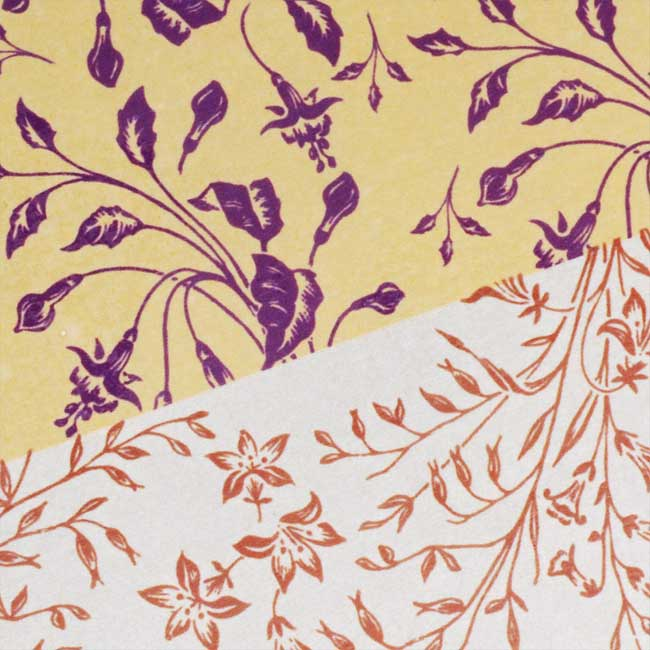 Nunn Design Transfer Sheet Gold/Silver Florals For Scrapbook -Fits Patera